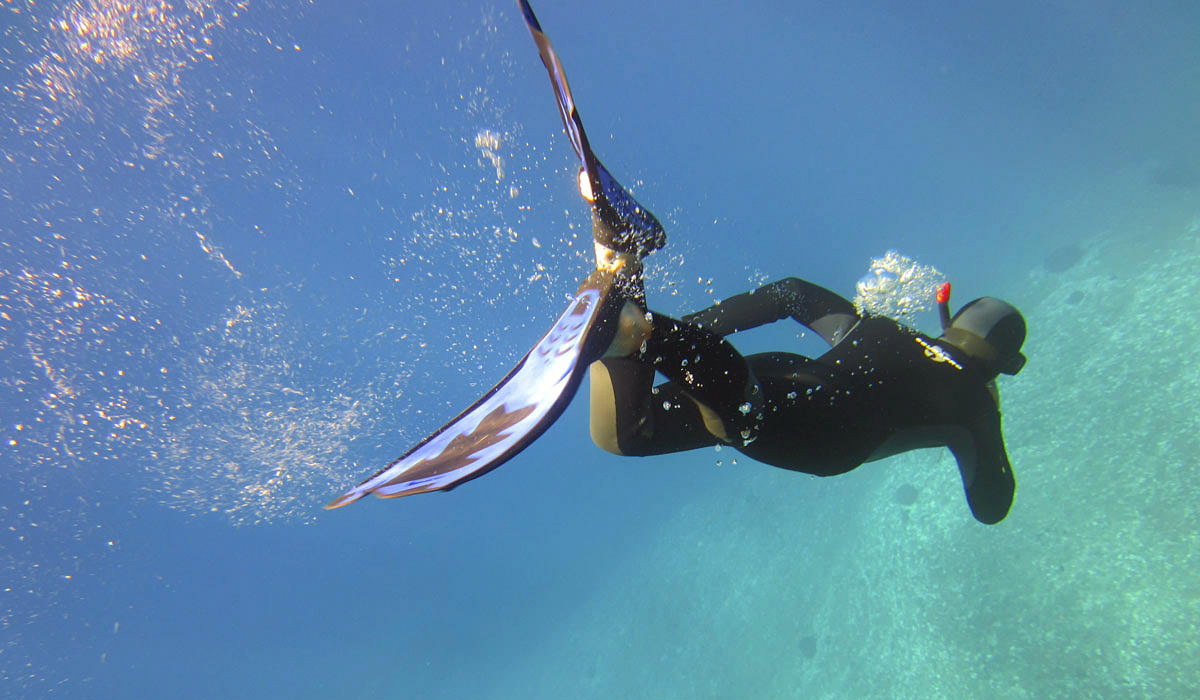 Free Diving in Greece