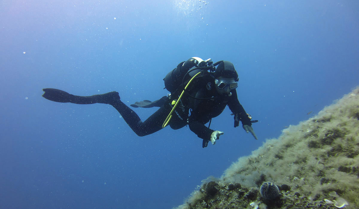 Greece Open Water Diver