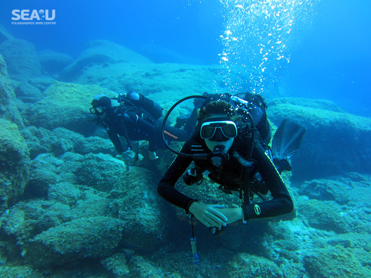 Sea-U Folegandros Dive Center - Scuba Diving