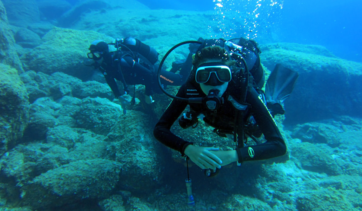 Greece Scuba Diving